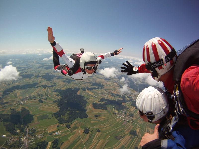 Fallschirm Tandemsprung Fromberg in Niederösterreich