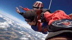 Tandemsprung Oberösterreich Fallschirmspringen