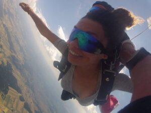 Fallschirm Tandemspringen Tirol Österreich