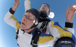 Tandemsprung Zell am See Österreich - Fallschirmspringen