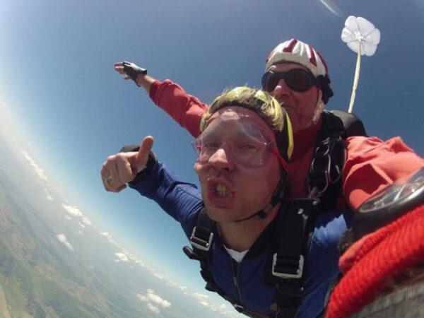 Tandemspringen Fallschirm Oberösterreich